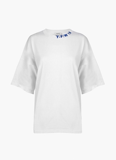 Twist Tişört Beyaz